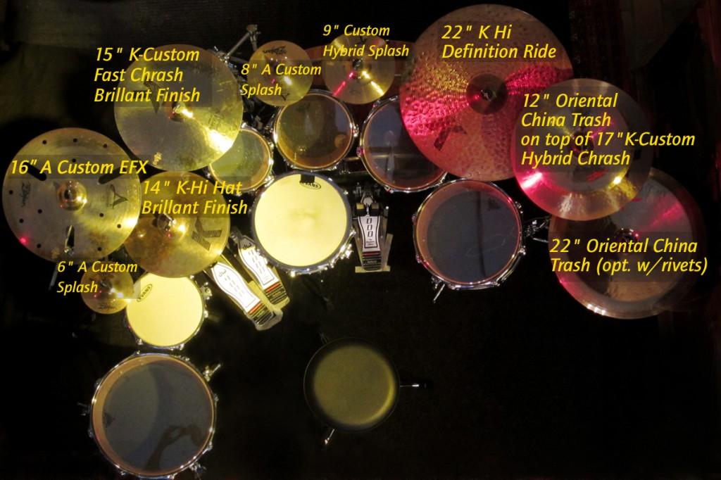 Big Set Cymbals